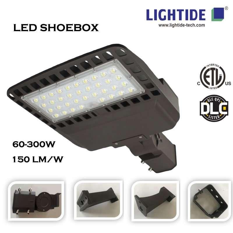 DLC LED SHOEBOX LIGHTS