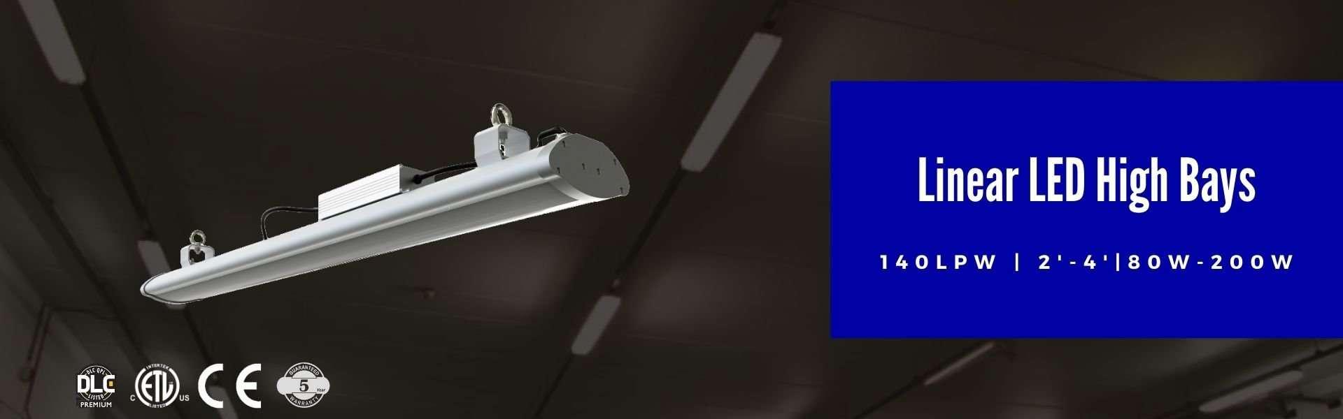 Lightide DLC QPL linear led High Bays Lighting